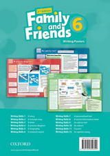 Family and Friends 2nd Edition 6 Writing Posters